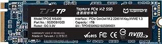 TOPMORE TPCIE400-0G 2TB NVMe PCIe M.2 Gen3x4 2280 TLC SSD R/W Up to 2500/2100MB/s (Made in Taiwan)