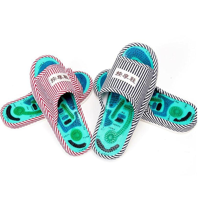 引き算カフェいちゃつくWincy Shop Reflexology Foot Acupoint Massage Slippers Promote Blood Circulation Relaxation Feet Health Care Shoes for Men and Women Relief Pain and Tireness