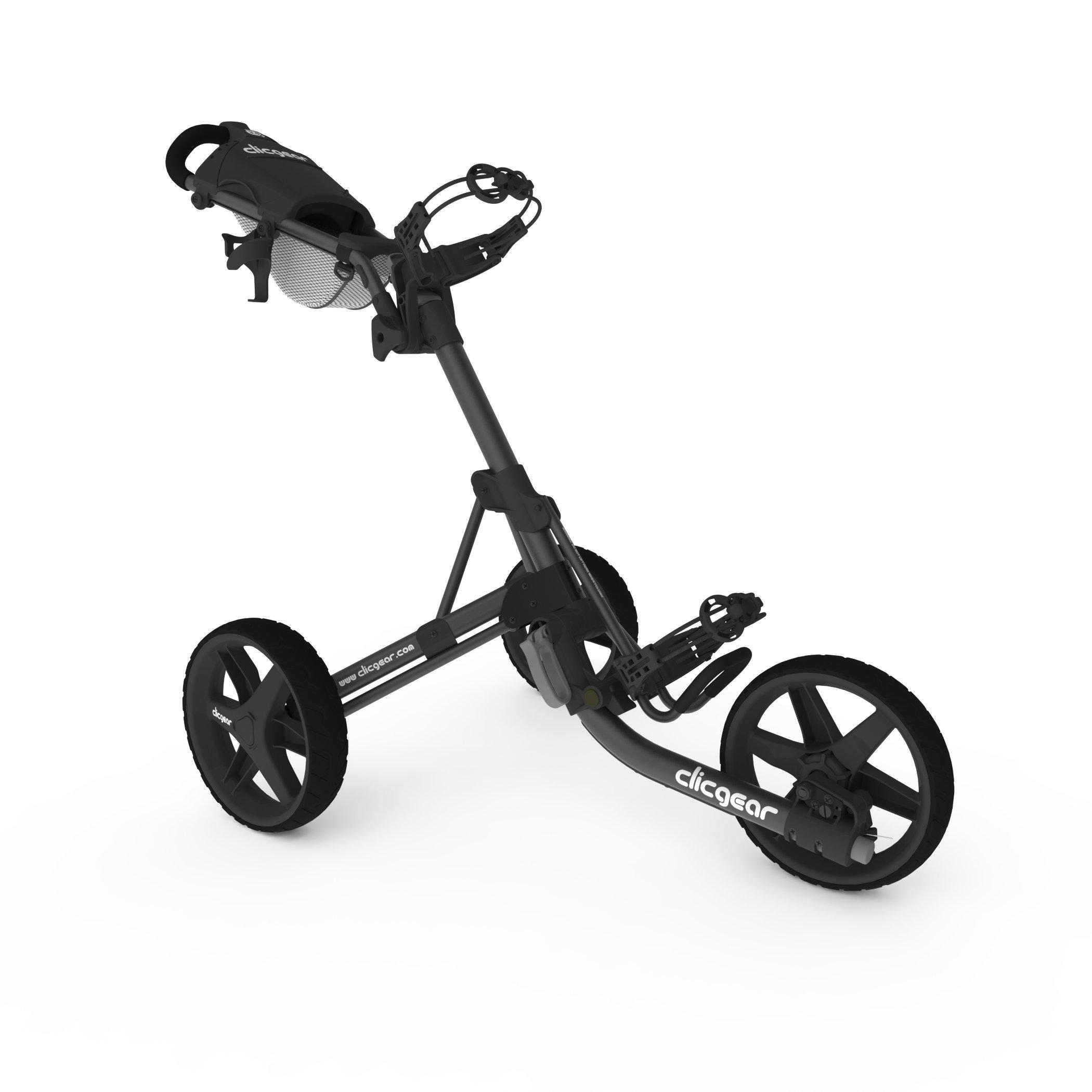 Clicgear Model 3 Wheel Charcoal Black