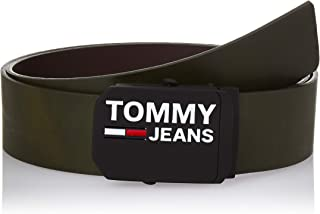 حزام جلدي للرجال من تومي هيلفجر