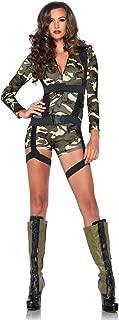 Leg Avenue Goin Commando Adult Costume,Camo,Large