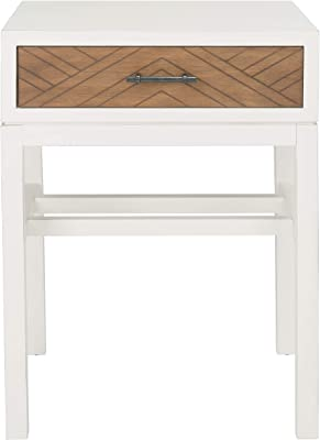 Safavieh Home Collection Primrose Brown 3-Drawer Console Table