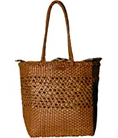 Loeffler Randall - Maya Woven Leather Shopper Tote