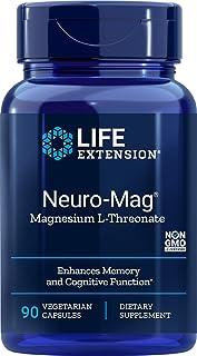 Neuro-Mag Magnesium L Treonato (90 vCaps) Life Extension