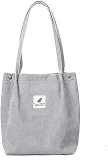 Nicebags Umhängetasche Damen Schultertasche Große Schultertasche Casual Handtasche Mode Stofftasche Geeignet für den tägli...