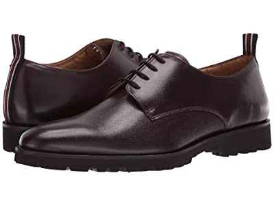 CARLOS by Carlos Santana Power Lite Oxford (Chocolate Full Grain Calkfskin Leather) Men