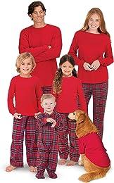 Pyjamas de Noel Famille Femme Homme Garçon Fille d