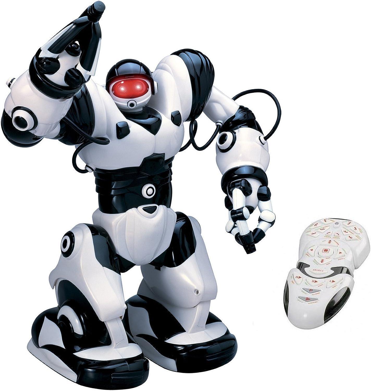 Playtech Logic TT313 Roboactor Interactive Programmierbare RC Intelligent Gehen Laufender Roboter 67 vorprogrammierte Funktionen-Humanoid Robosapien mit Attitude-InfraRot Remote Controlled, Schwarz B00D502AW8 Für Ihre Wahl     | Großhandel