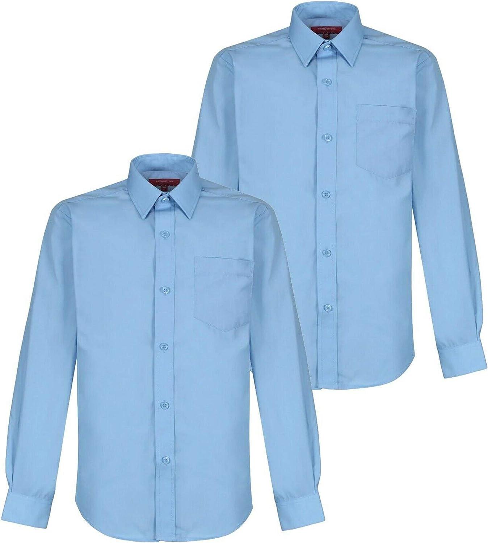 KE Girls School Blue Short Sleeve Blouse Shirt Winterbottoms Uniform Regular Fit Premium