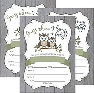 baby shower themes owls