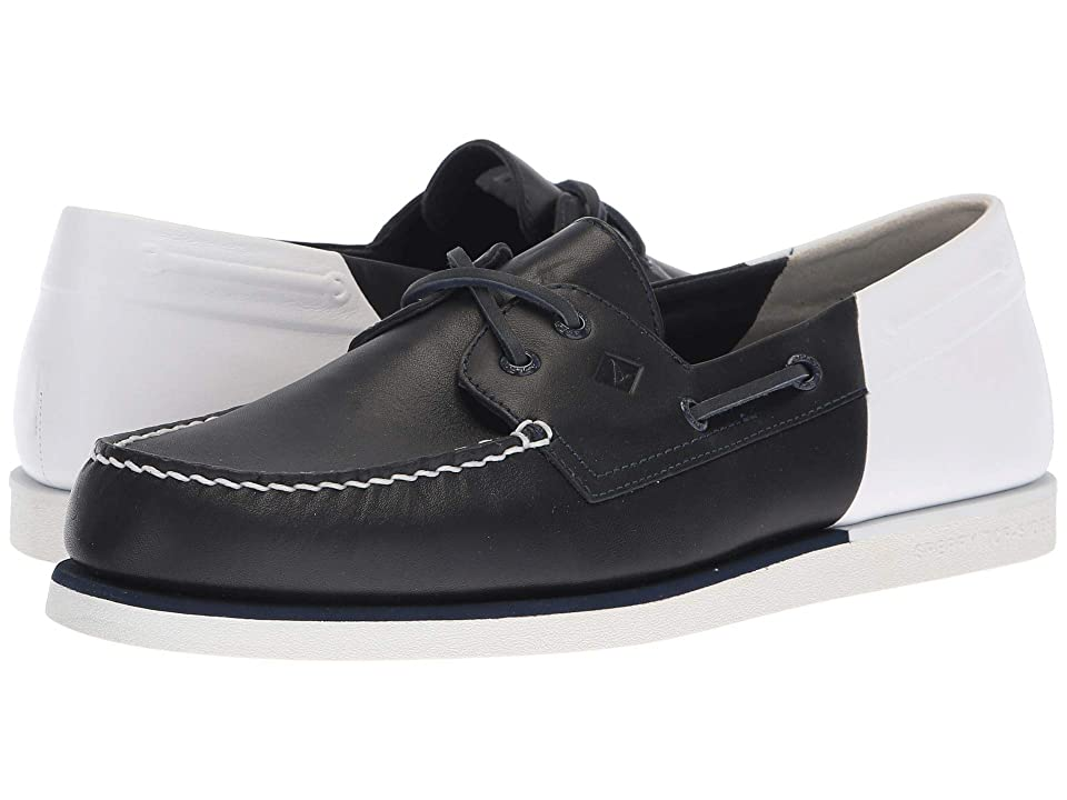 Sperry A/O 2-Eye Stern (Navy/White) Men