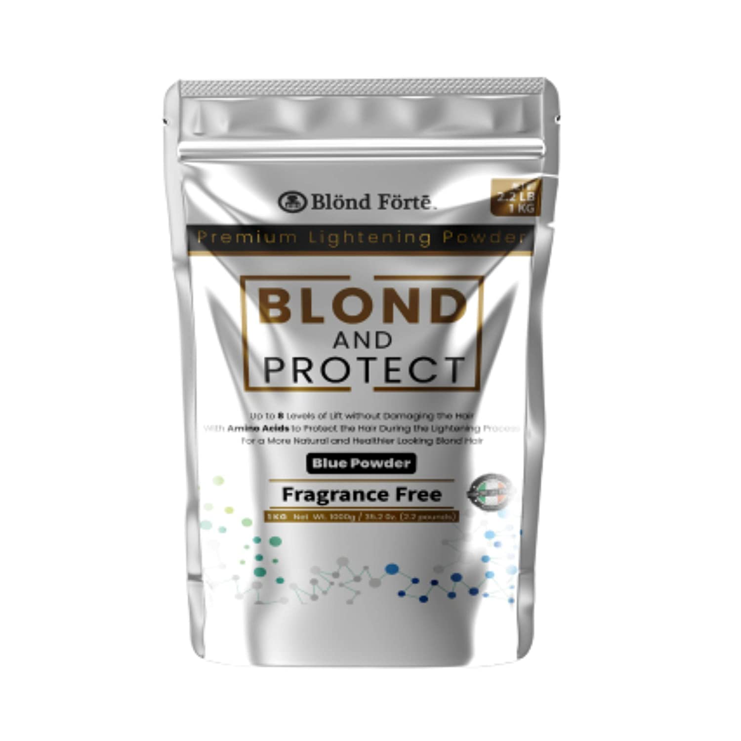 Blond Forte And Reservation Protect 2.2 Pound 8+ Tub 35 Level OZ overseas Ble