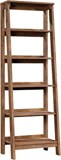 Sauder Trestle 5-Shelf Bookcase, Vintage Oak finish