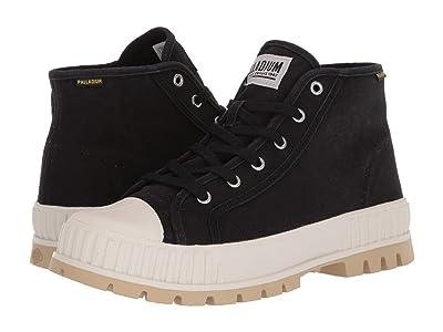 Palladium Pallashock Mid Og (Black/White) Shoes