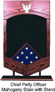 Navy E-7 Chief Petty Officer (MCPO) Shadow Box/Retirement Display