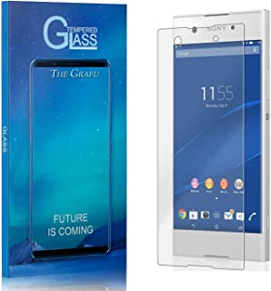 3 Pack Bubble Free The Grafu Screen Protector for Sony Xperia XA2 Ultra 9H Tempered Glass Screen Protector for Sony Xperia XA2 Ultra Drop Fall Protection Ultra Clear