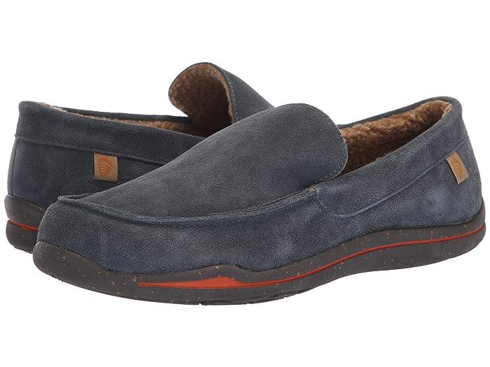 Acorn  Ellsworth Suede Moc (Mineral) Mens Slippers