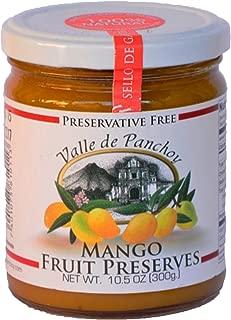 Valle de Panchoy Fruit Preserves, 100% Natural - 300grs / 10.5oz - 2 Pack (Mango)