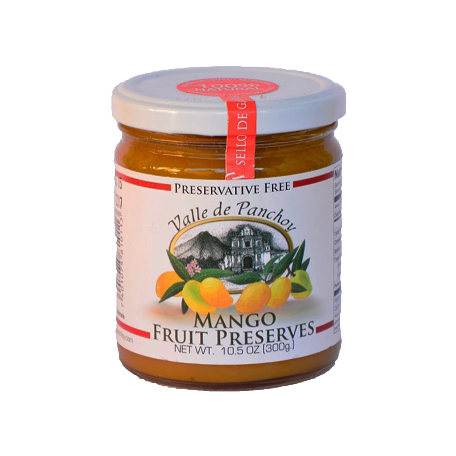 Valle de Panchoy Mango Preserve Jam Guatemal Natural and Discount mail order Popular products - Jelly
