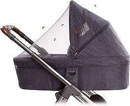 O3 Fliegengitter Cosy Universal | Fliegengitter für Kinderwagen | Insektenschutz für Autositz | elastisches Moskitonetz
