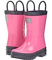 Hatley Kids - Pink & Navy Rain Boots (Toddler/Little Kid)