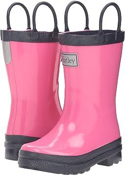 Pink & Navy Rain Boots (Toddler/Little Kid)