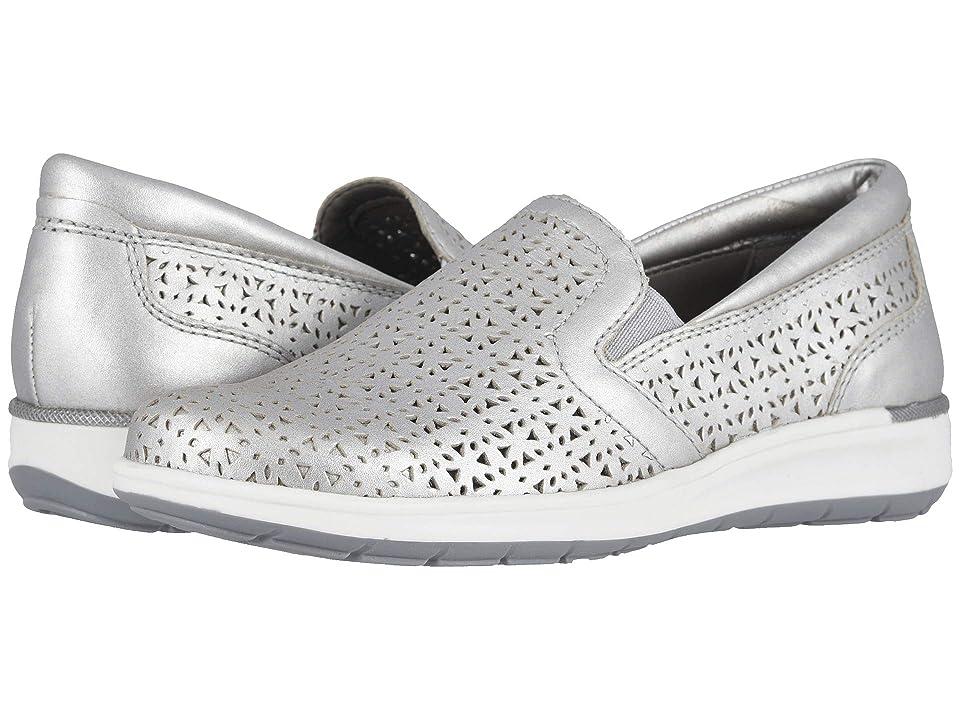 Walking Cradles - Walking Cradles Orleans  (Silver Perforated Metallic Leather)