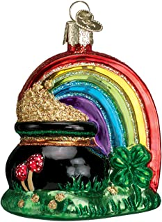 Old World Christmas Ornaments: Pot of Gold Glass Blown Ornaments for Christmas Tree