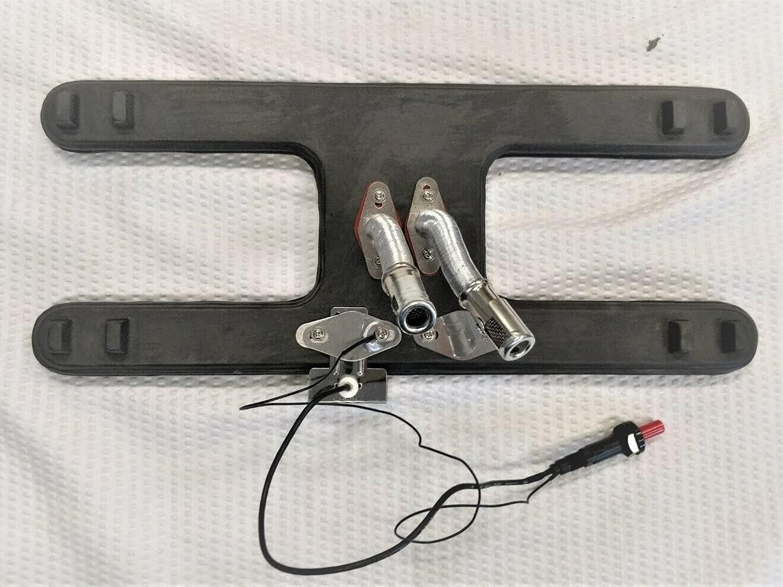 Gas Grill 高品質 百貨店 Universal H Style Cast Burner Adjustable Iron with Tub