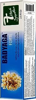 Badyaga Forte Gel for Bruises, Acne Marks and Hyperpigmentation with Fresh Water Spongilla 75ml/2.5 Fl Oz