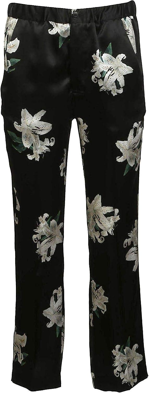 DONDUP Women's DP162FF294CXXX999 Black Viscose Pants
