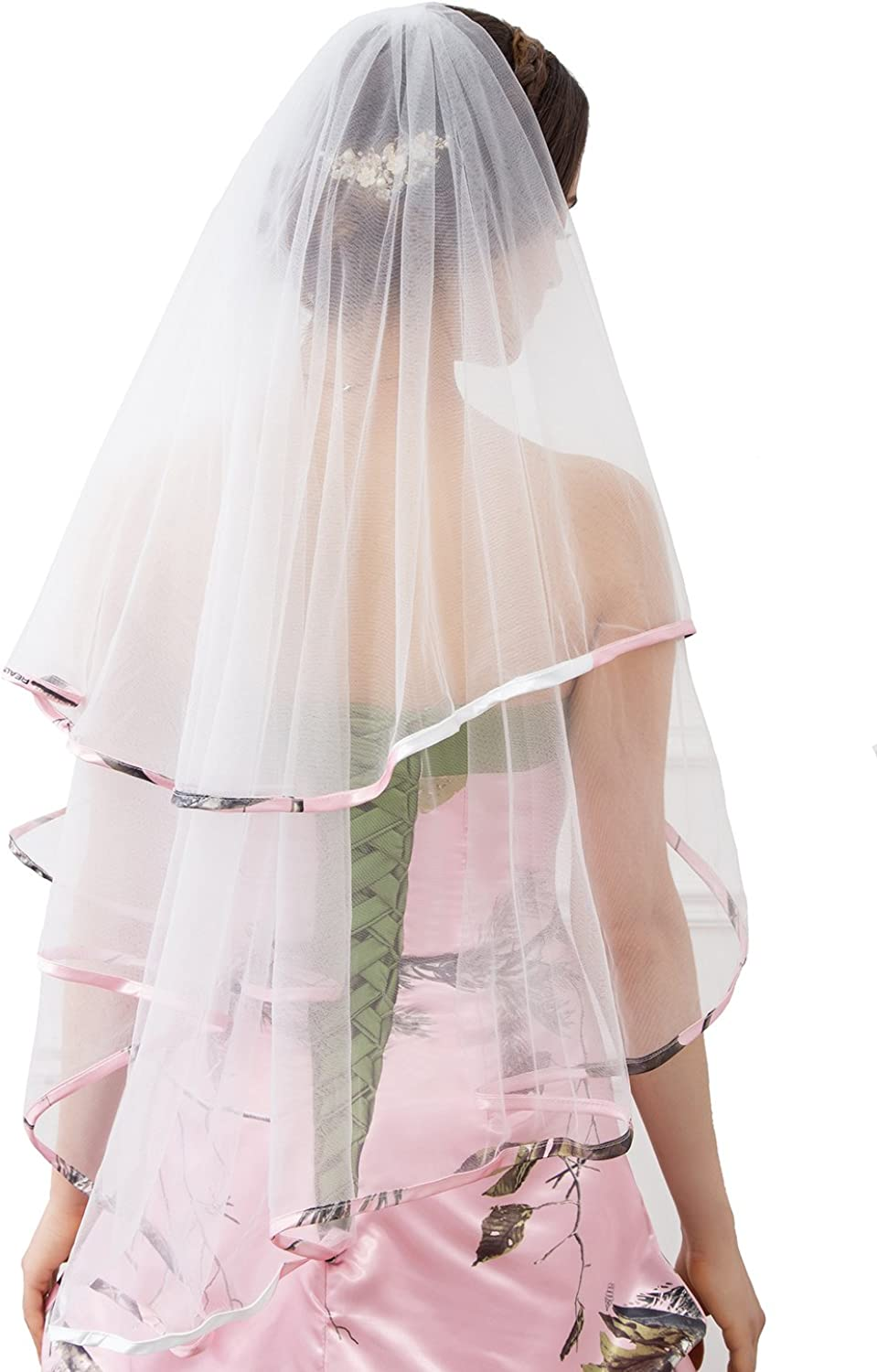 iLovewedding OFFicial Today's only site Bridal Veils Camo Wedding for Dr Veil Bride