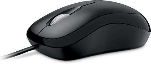 Microsoft Basic Optical Mouse - Black (P58-00061)