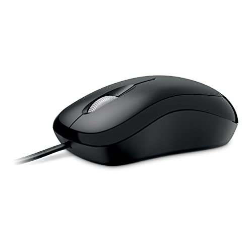 b8674f8d1c2 Microsoft Basic Optical Mouse - Black (P58-00061)