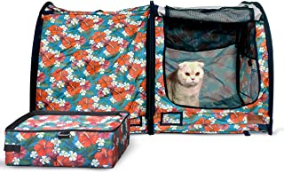 MushroomCat Cat House,Litter Box,Carrier,Outdoor,Dog House,cage,Travel Car Seat,Carriers for Carriersrge Cats,Waterproof,P...