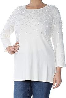 Alfani Women's Embellished Swing Sweater