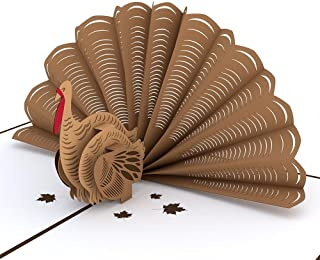 turkey pop up card
