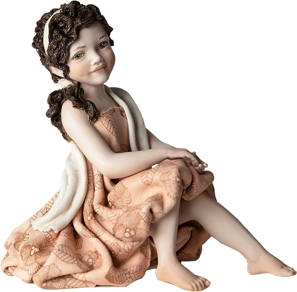 Sibania hana – statua in porcellana - edizione limitata – artigianale , manifattura classica