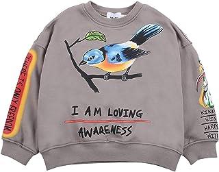 THE SCOTTS Kids Crewneck Sweatshirt Kanye I Am Loving Awareness Sweatshirt Hip Hop Pullover Hoodie for Youth