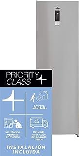 Sauber - Congelador vertical SCV186I Tecnología NOFROST -