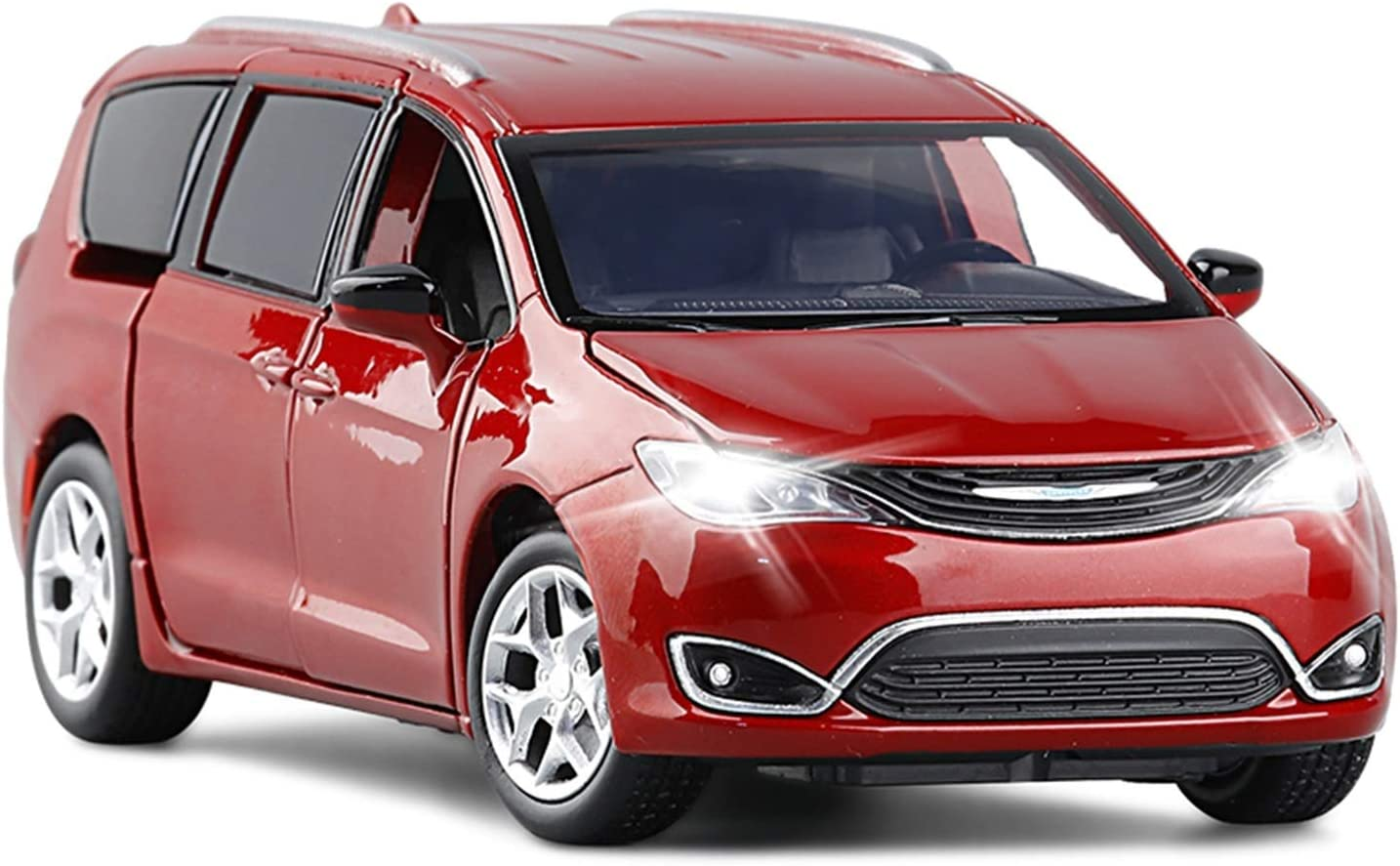 1:32 Max 71% OFF for Chrysler Grand 100% quality warranty Voyager MPV Model Car Alloy Diecast