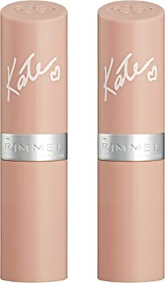 Rimmel Lasting Finish By Kate Lipstick Nude Collection, 45, 2 Count