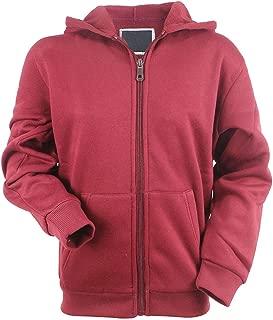 Boy's Full Zip Lightweight Fleece Hoodie Sweatshirt HoodiesforBoys