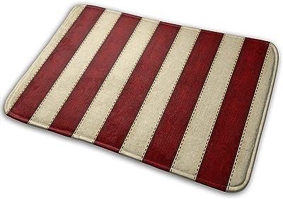 Flimy Na American Honor Stripes Felpudo Antideslizante Casa Puerta de jardín Alfombra Alfombra de Puerta Alfombrillas de Piso: Amazon.es: Hogar