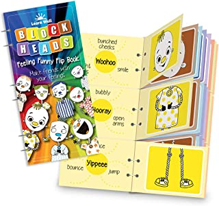 Learn Well Feeling Funny Flip Book - Learn how emotions affect every part of the body