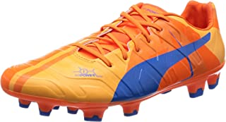 Evopower 1 H2H FG 'Head To Head' Football Boots Tricks Graphic Collection two face blue/orange, EU Shoe Size:EUR 43, Color:blue/orange