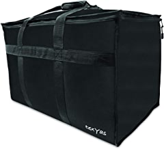 TexYas Extra Large Insulated Thermal Food Delivery Bag | Commercial Grade, Ideal for Groceries, Catering, Instacart, Uber Eats, Grubhub, Postmates, Doordash and Restaurant use | Washable, Leakproof