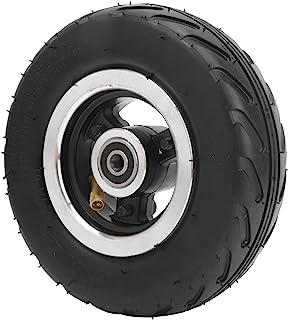 Pneumatisch wiel, 6x2 rubberen opblaasbare luchtband met aluminium naaf Sterke grip Geschikt voor elektrische scooters