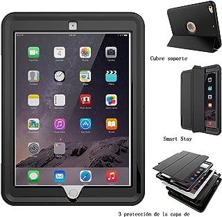 Ok Accessories iPad 9.7 2018 Funda, iPad 9.7 2017 Funda, Smart De Pata de Cabra Fundas [ Allí la Capa ] con Auto Dormir Despierto Caso para iPad 5th / 6th