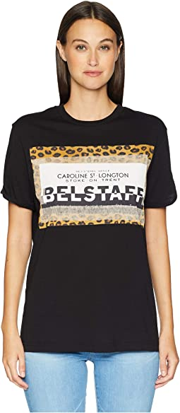 Perrins Leopard Graphic Jersey Tee